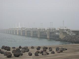 Der Oosterschelde-Damm