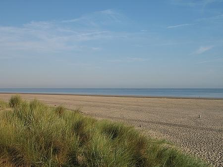 Strand im Osten von Renesse