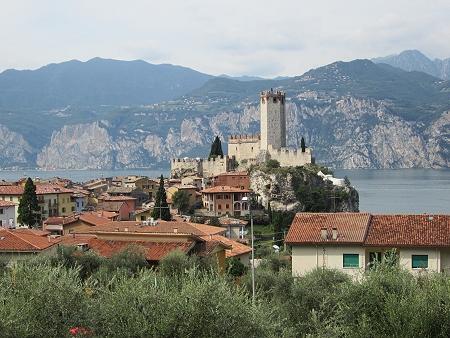 Die Burg von Malcesine